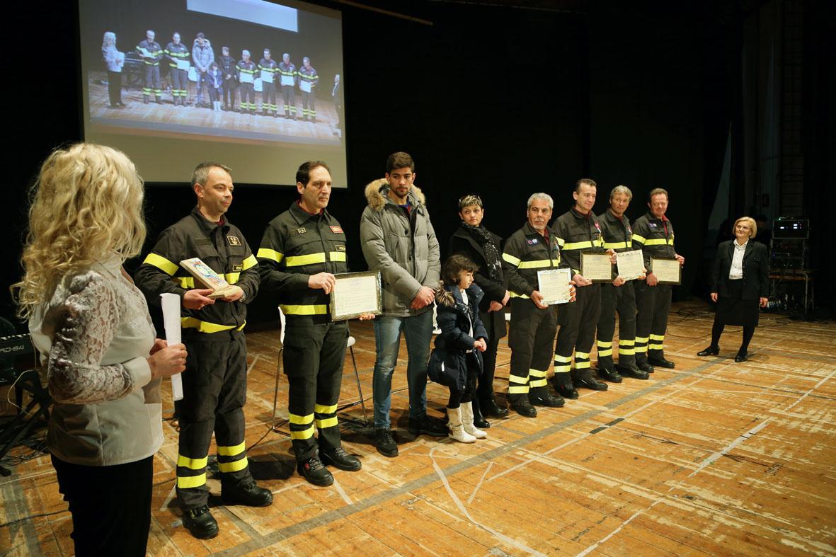 Premiazione Comando Vigili Fuoco Pescara