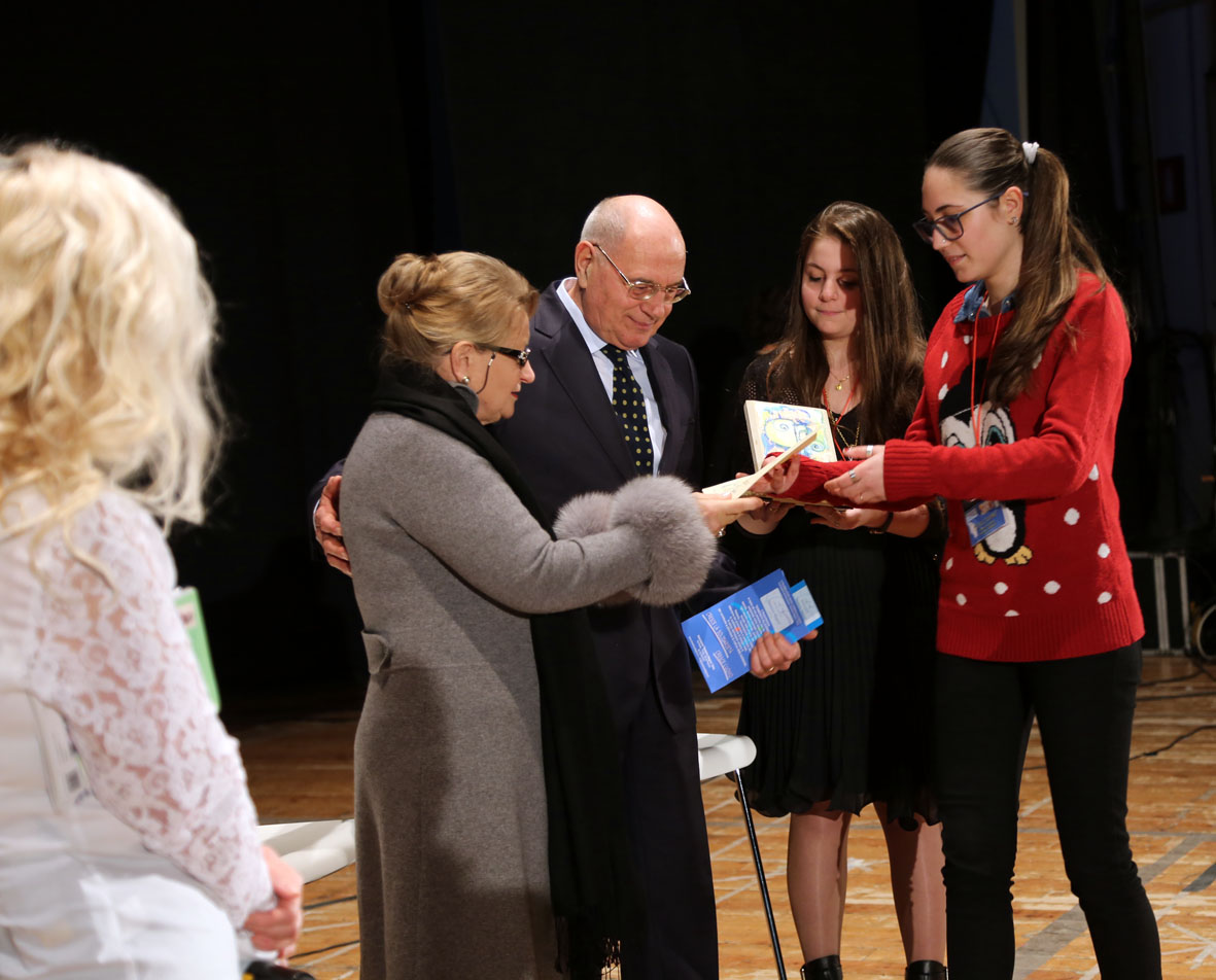 Premiazione Mariella e Mino Cantamessa