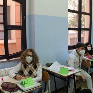 Alcuni studenti della classe III F