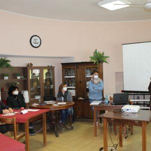 Antonella Allegrino intervento al corso sul web1